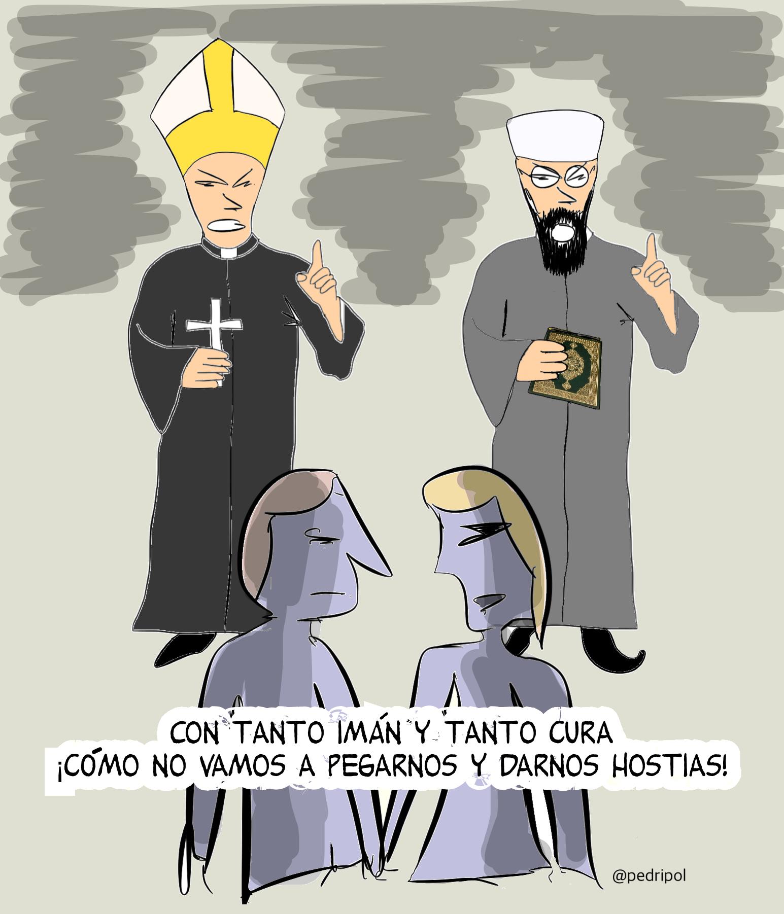 Imanes y Curas