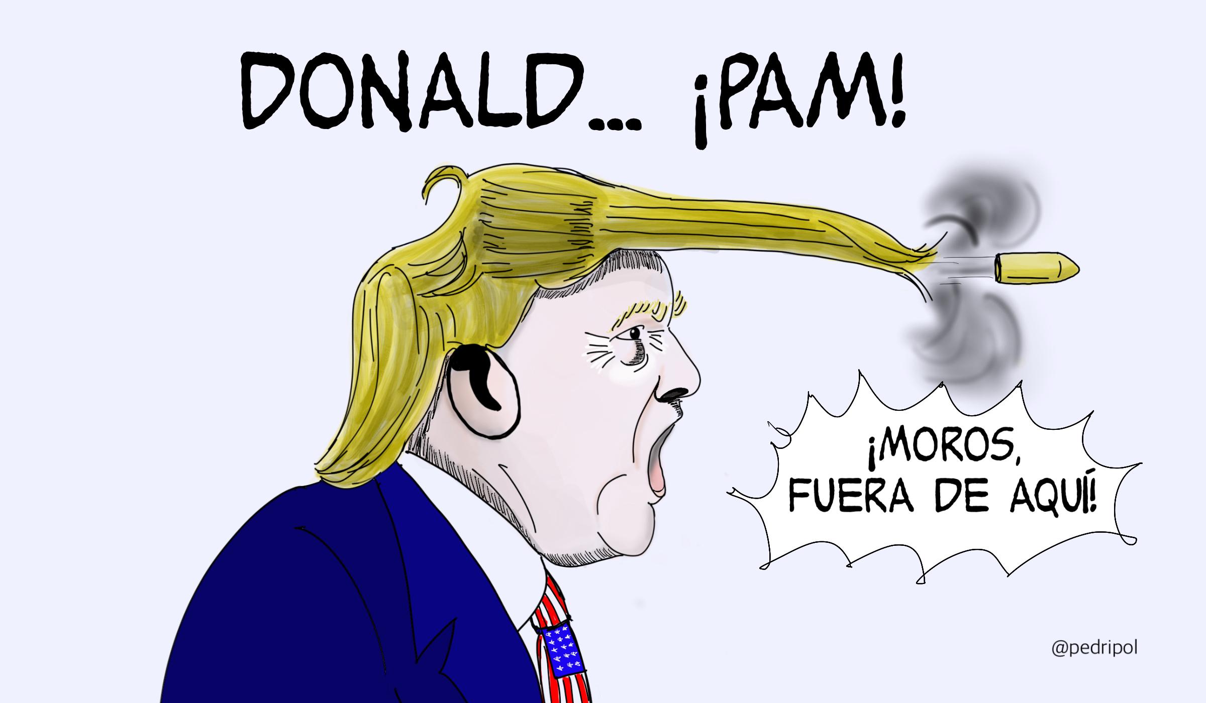 Donald... ¡PAM!