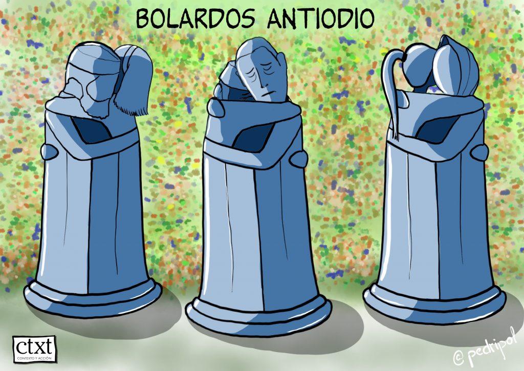 Bolardos antiodio