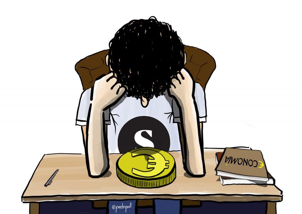 Estudiando economía (para El Salto)