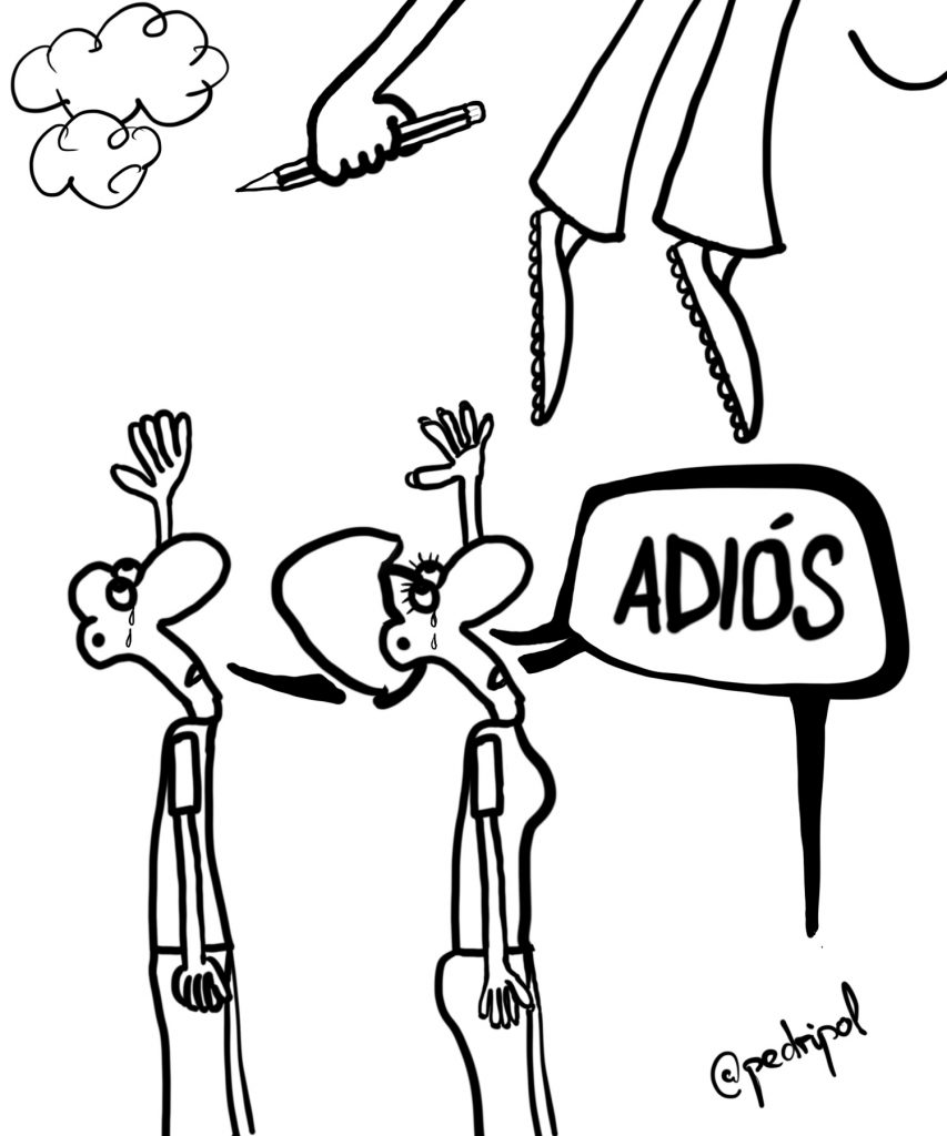 Adiós, Forges
