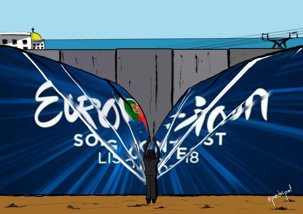 Eurovisión, desde Palestina