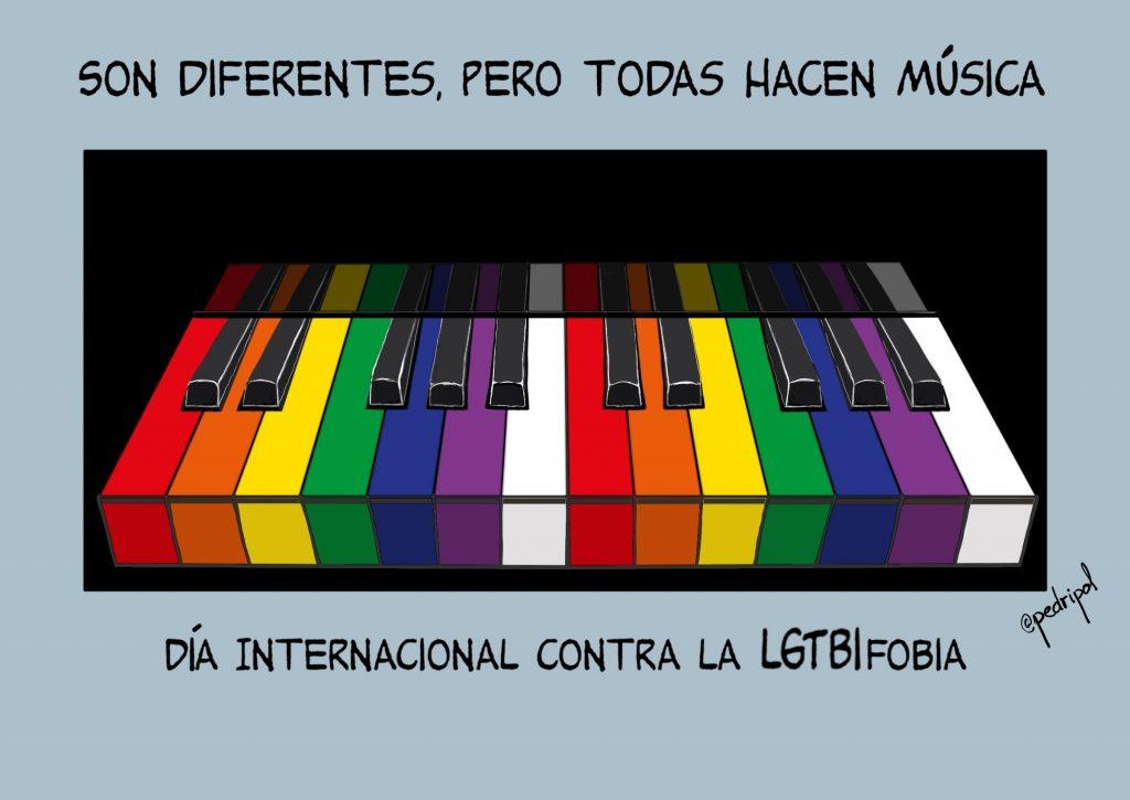 17 de mayo, Día Internacional contra la LGTBIfobia
