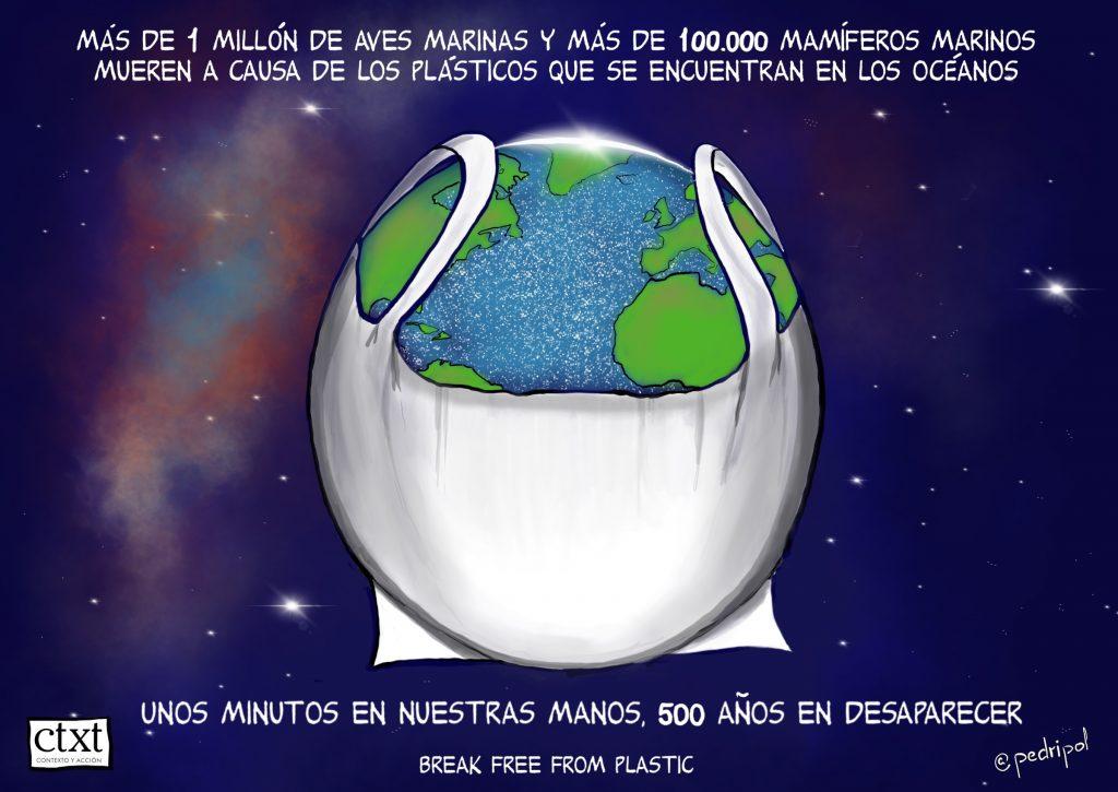 Tierra, no plástico