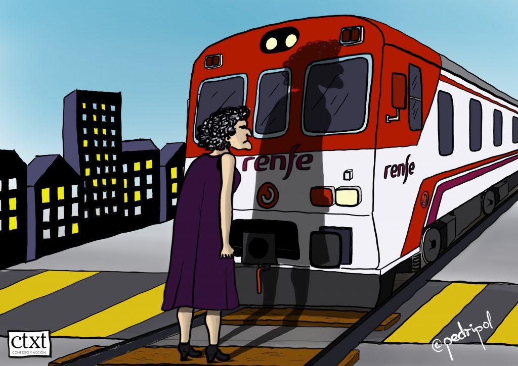 Murcia, pundonor para parar un tren