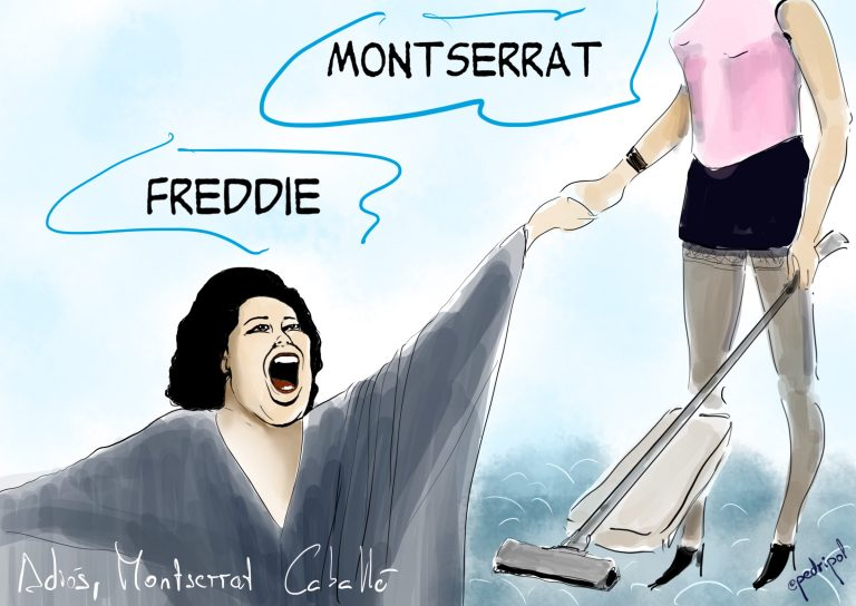 Adiós, Montserrat Caballé