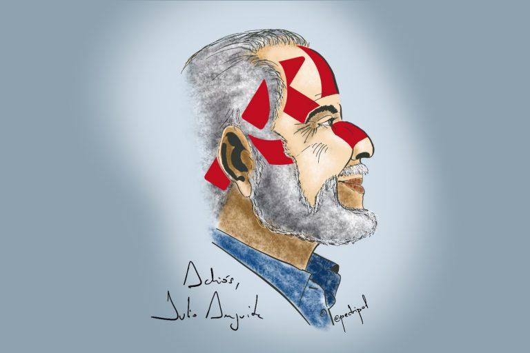 Adiós y gracias, Julio Anguita.