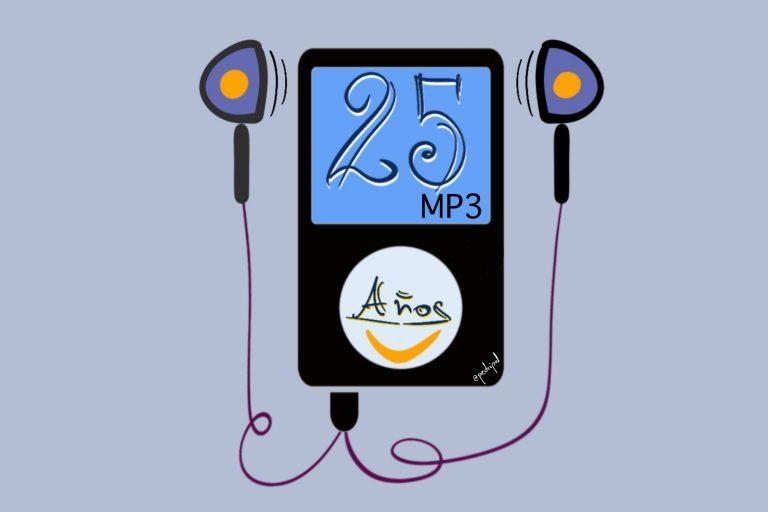 25 años del nacimiento del formato MP3