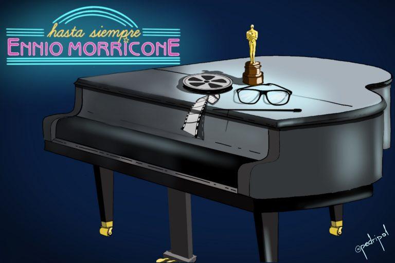 Gracias, Ennio Morricone, por tantísimo bueno, por tanto arte