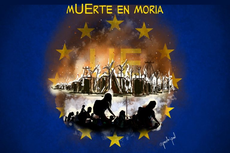 Moria, la vergUEnza de Europa